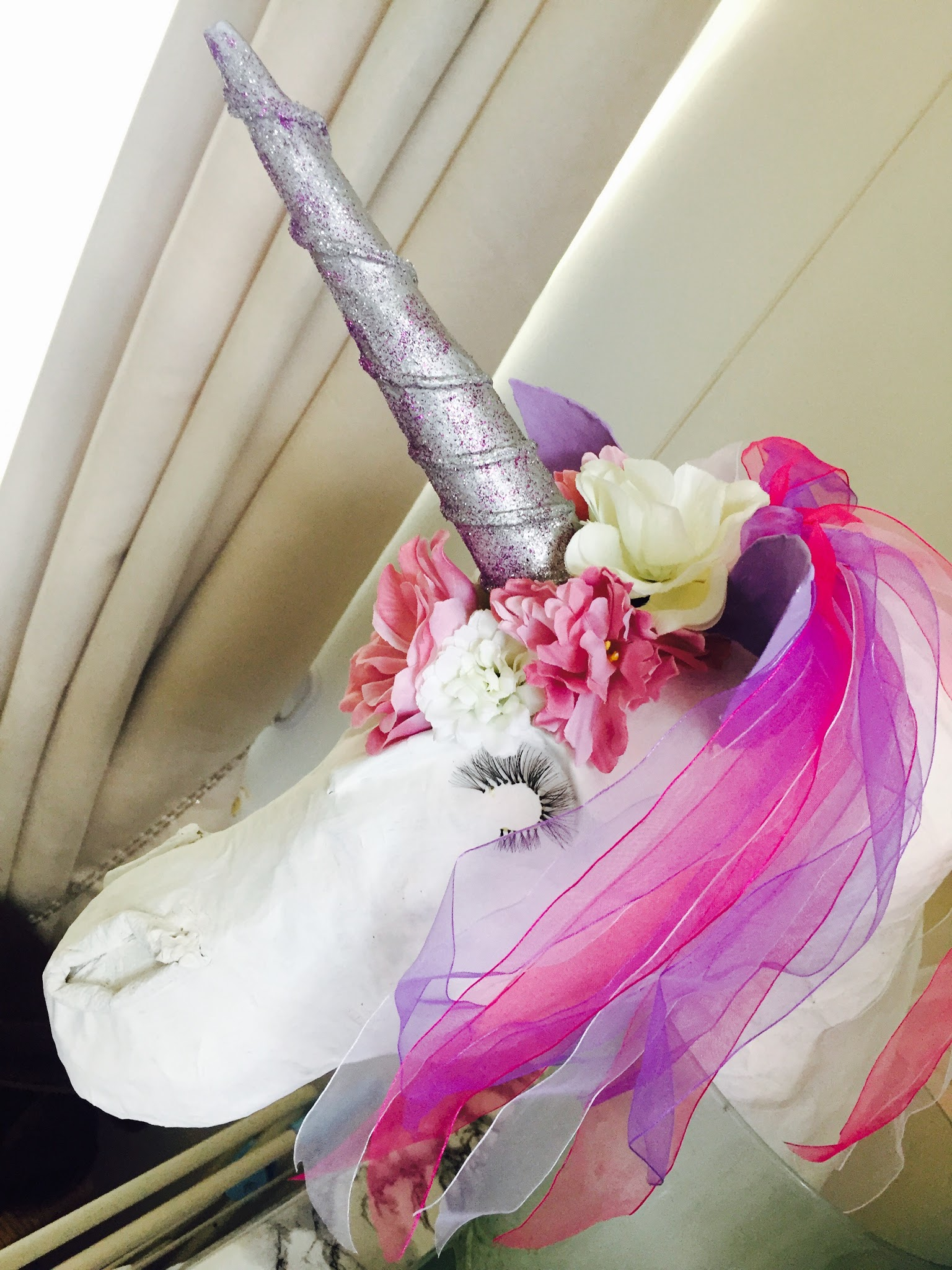 Diy Paper Mache Unicorn Head Step By Step How To